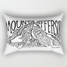 Mount Jefferson Rectangular Pillow