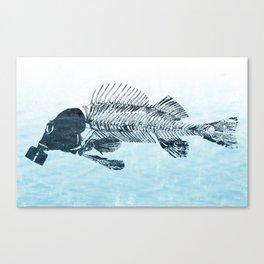 Blinky Canvas Print