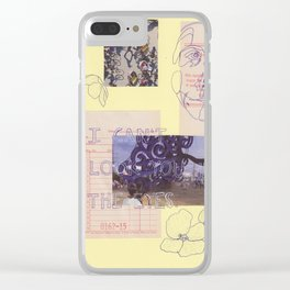 in the eyes Clear iPhone Case
