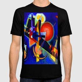 Kandinsky In Blue T-shirt