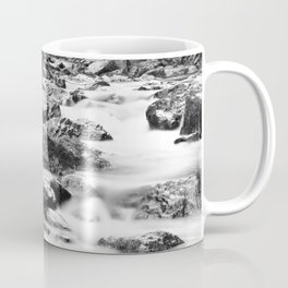 Stones in the Alpine river Coffee Mug