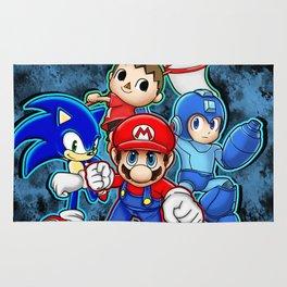 Super Smash Bros  Rug