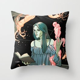 Lovecraft Heart Throw Pillow