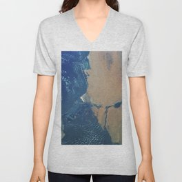White-tailed eagle on branch (1900 - 1930) by Ohara Koson (1877-1945) Unisex V-Neck