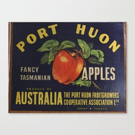 Apple Crate Canvas Print