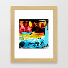 Color Abstract 1 Framed Art Print