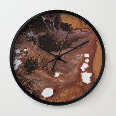 Copper abstract liquidity. Wall Clock