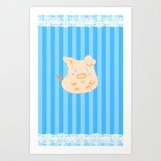 This little piggy.. Art Print