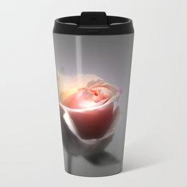 Single Rose Spotlighted Travel Mug