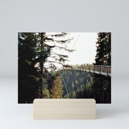 Bridge in the Black Forest Mini Art Print