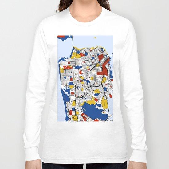 San Francisco Mondrian Long Sleeve T-shirt
