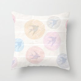 SHADOWBIRDS Throw Pillow