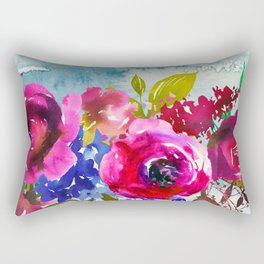Flowers Bouquet 86 Rectangular Pillow