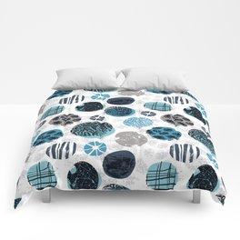 Blue Pebbles Comforters