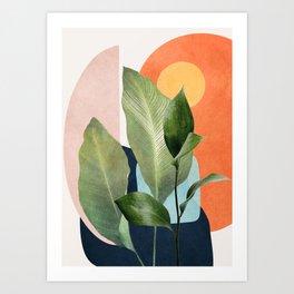 Nature Geometry VII Art Print