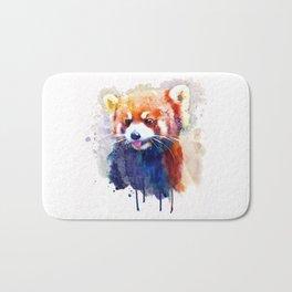 Red Panda Portrait Bath Mat