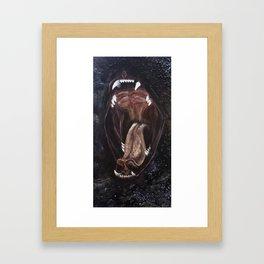 the Kitty Maw Framed Art Print