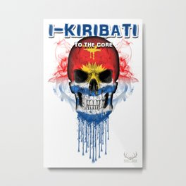 To The Core Collection: Kiribati Metal Print