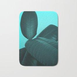 Ficus Elastica #3 #art #society6 Bath Mat