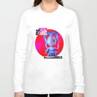 artrave Long Sleeve T-shirts featuring ArtRAVE octopus by Sergiomonster