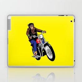 Biker Chimp Laptop & iPad Skin