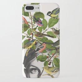 Twiggy Eyes iPhone Case