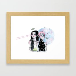 Alienigenas Framed Art Print