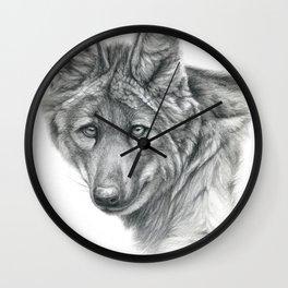 Maned Wolf G040 Wall Clock