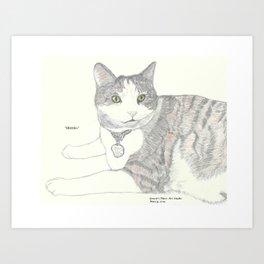 Portrait of Skittles Art Print