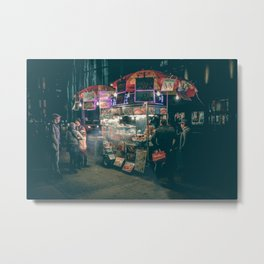 New york city Food Metal Print