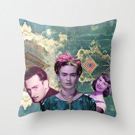 the three muskateers  Throw Pillow