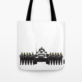 Banksy Have a nice day Tote Bag