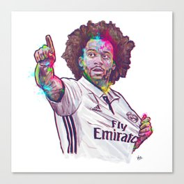 Real Madrid Marcelo Canvas Print