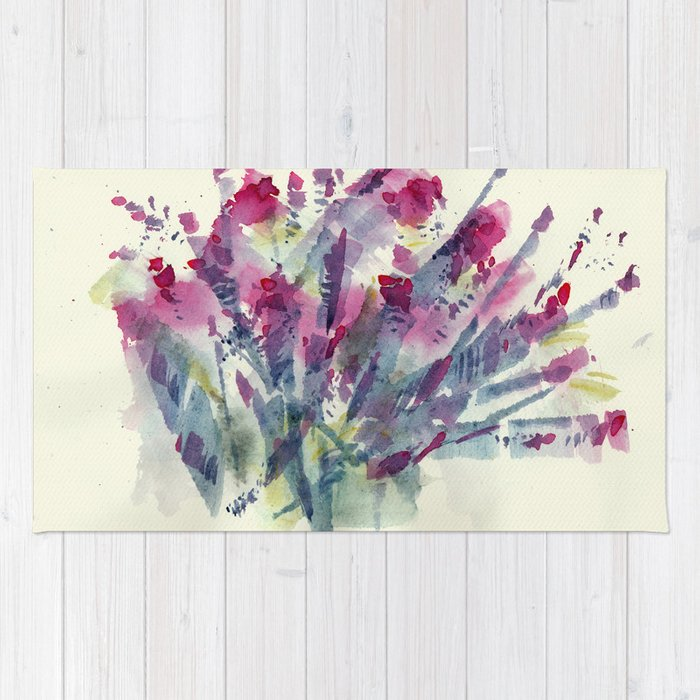Flower Impression / Bursting Bouquet Rug