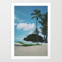 Get Lost in Hawaii Art Print