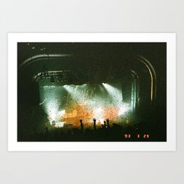 The Crowd Goes Wild Art Print