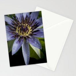 Nymphaea caerulea Stationery Cards