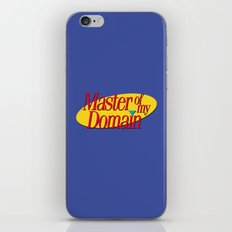 Master of my domain iPhone & iPod Skin