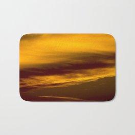 Evening Sky in Minnesota Bath Mat