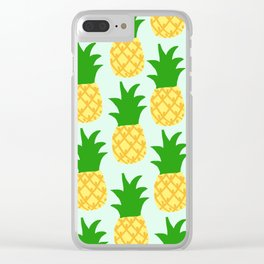 Big Pineapples Clear iPhone Case