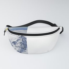 """Big mountains"". Aerial photography Fanny Pack"