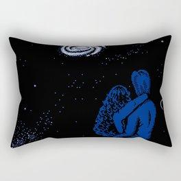 Cosmic Love Rectangular Pillow