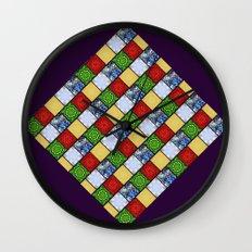 Five Elements Banner Wall Clock