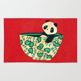 Dinnerware sets - panda in a bowl Rug