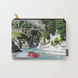 Shotover River, Queenstown, New Zealand Carry-All Pouch