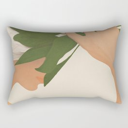 One with Nature Rectangular Pillow