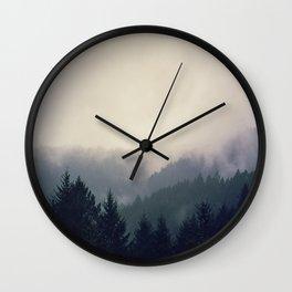 love is paradise.  Wall Clock