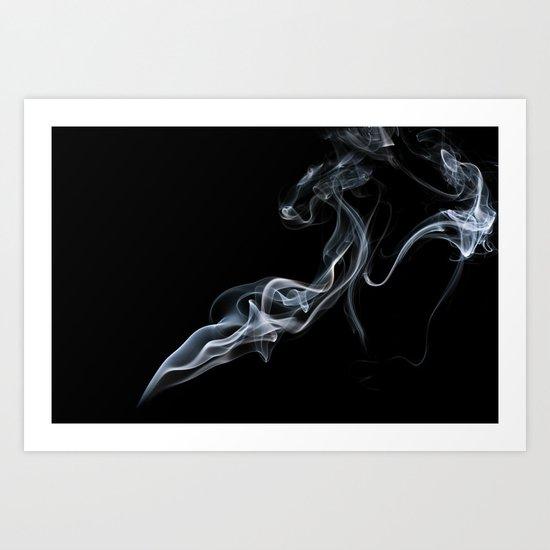Smokey 6 Art Print