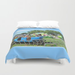 Jalopy Junction 2 Duvet Cover
