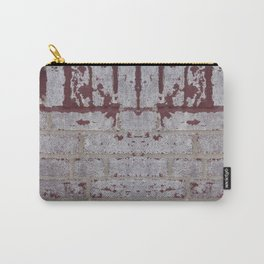 Brick Wall Carry-All Pouch